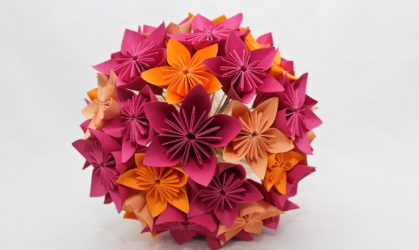 Bouquet de origami_Morning Glory_Aline (7)