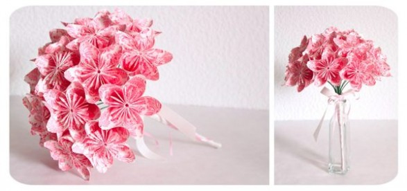 pinkweddingflowers